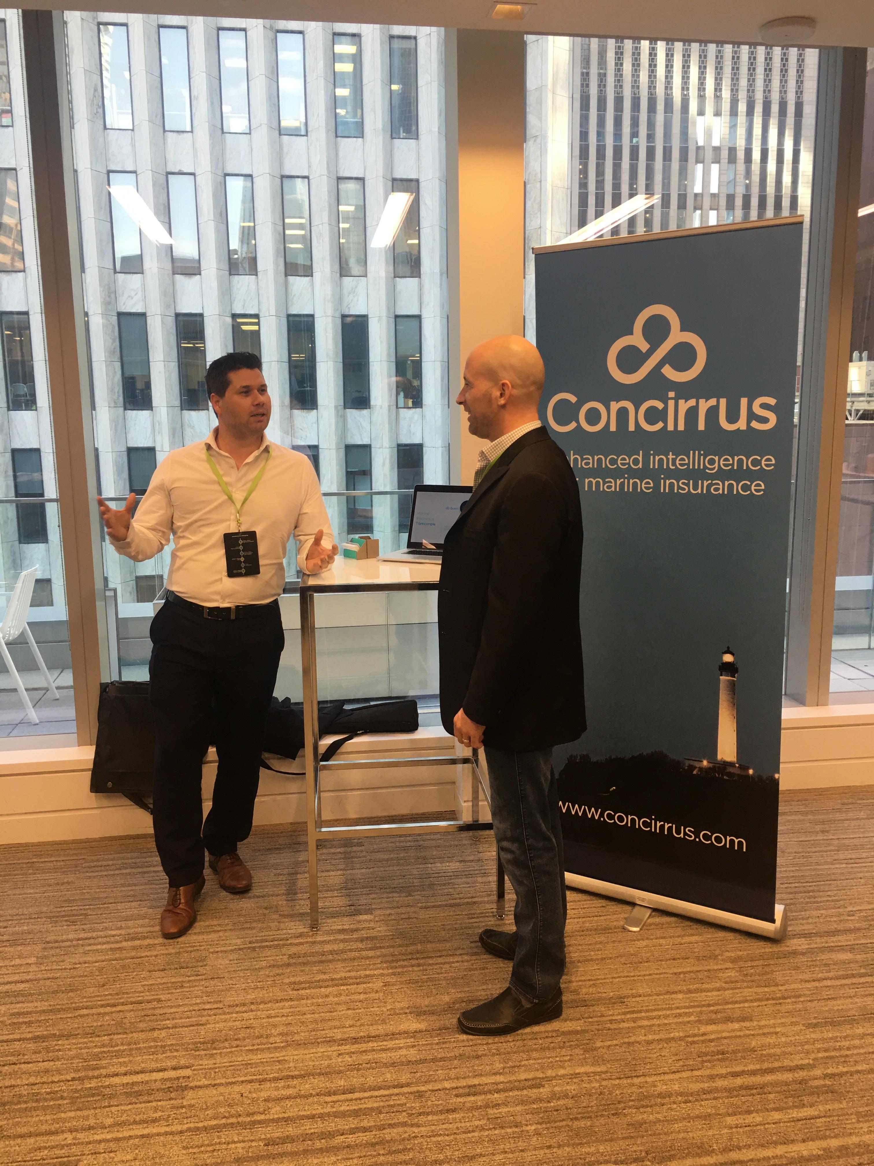 Graham at the 2018 Deloitte Insurtech Summit in Toronto.